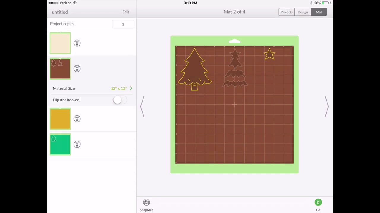 Cricut design space ios app 2 9 0 new feature move to for Space planning app