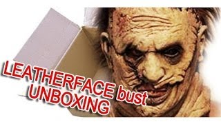Leatherface Headskinner Revisited limited edition bust UNBOXING