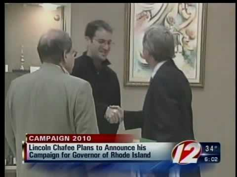 lincoln chafee announcement
