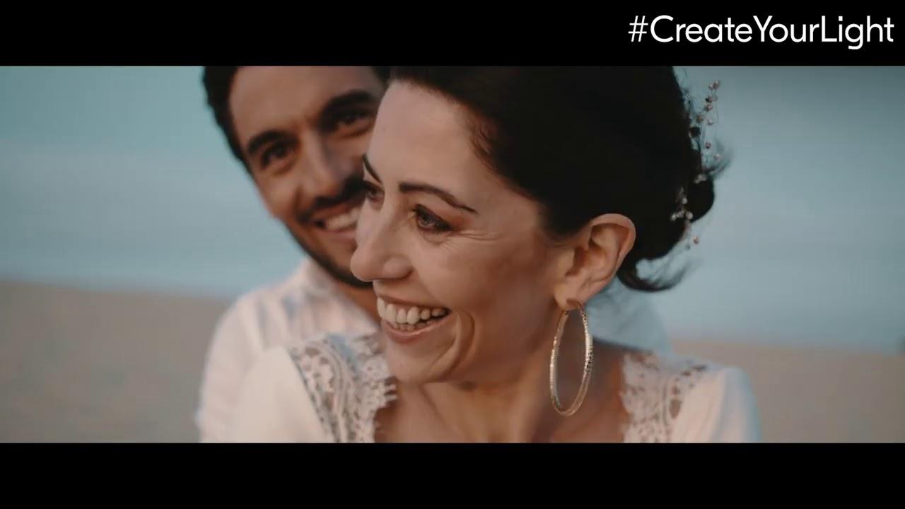 #CreateYourLight Thema 15: Hochzeitsfotografie und Videografie mit Tali & Francois Lamoureaux