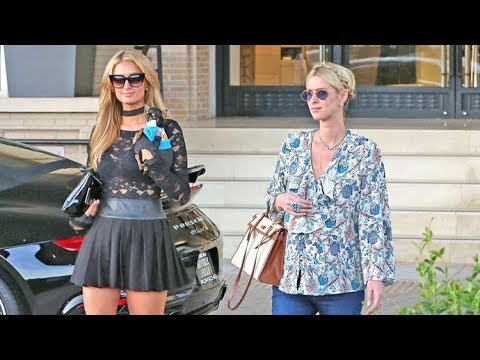 Nicky Hilton Looks VERY Pregnant While Preparing For Baby Shower With Paris Hilton