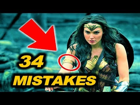 Thumbnail: 😂 34 MISTAKES in WONDER WOMAN ( 2017 )