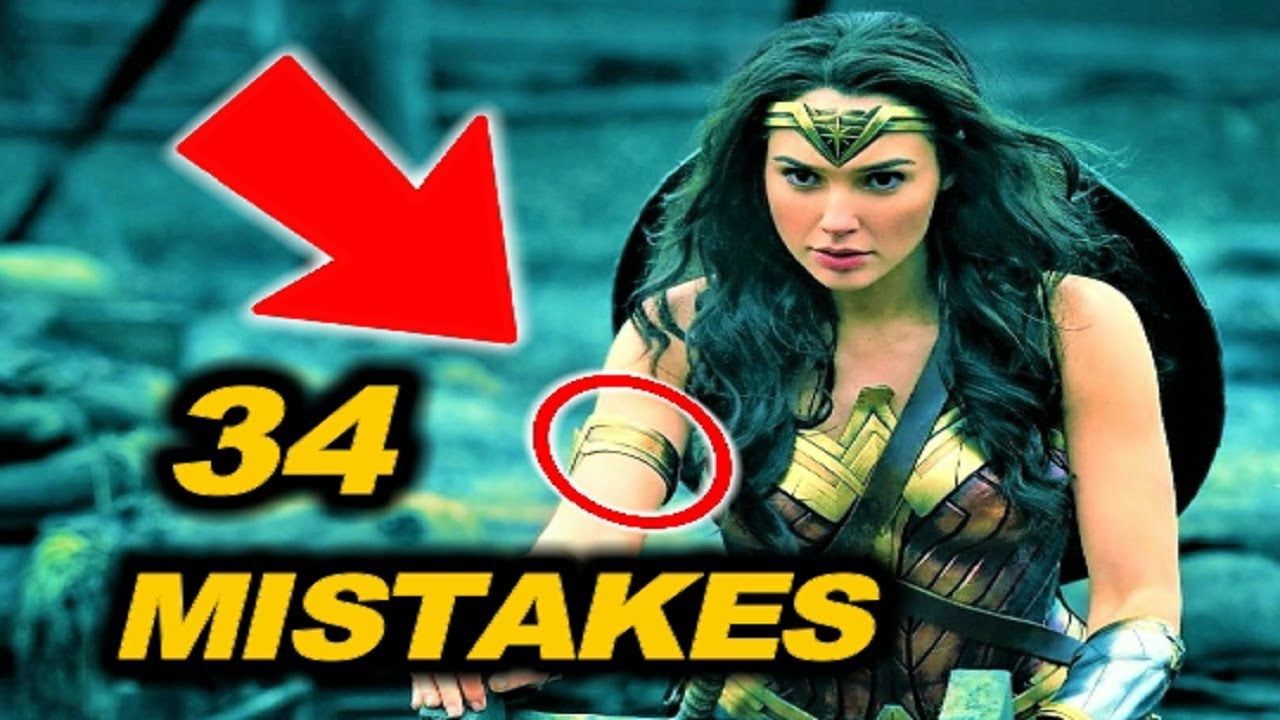 34 Mistakes In Wonder Woman 2017 Youtube