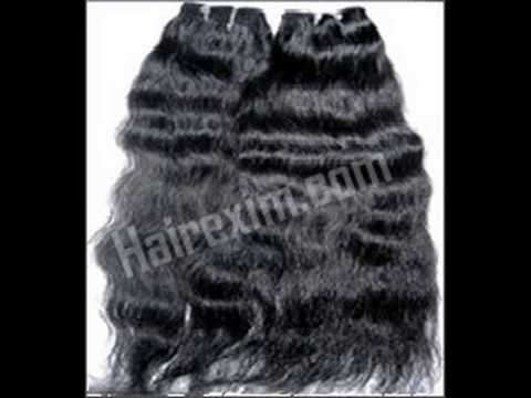 Virgin Indian Remy Natural Wavy Hair By Hair Exim India Pvt Ltd