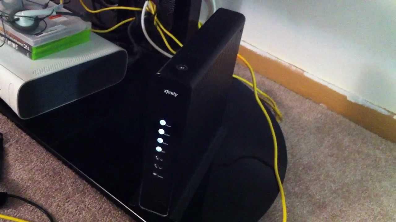 Motorola Cable Box Wiring Diagram Xfinity Gateway Wifi Set Up Youtube