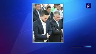 جلالة الملك وولي العهد يشاركان المصلين أداء صلاة عيد الفطر المبارك - (15-6-2018)
