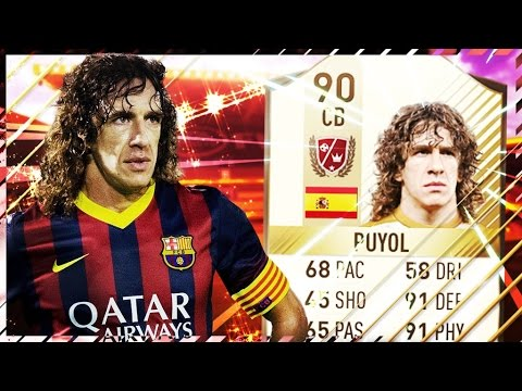 Fifa 17 Puyol Review New Legend Ultimate Team