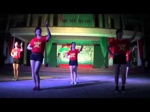 Nhảy Dân Vũ Trống Cơm - Trường Quân Sự Bộ Tư Lệnh Thủ Đô
