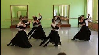 Зачёт по классическому танцу.