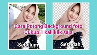 Hapus Background Foto Hanya 1x Klik