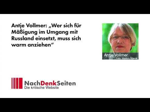 """Antje Vollmer: """"Wer sich für Mäßigung im Umgang mit Russland einsetzt, muss sich warm anziehen"""""""