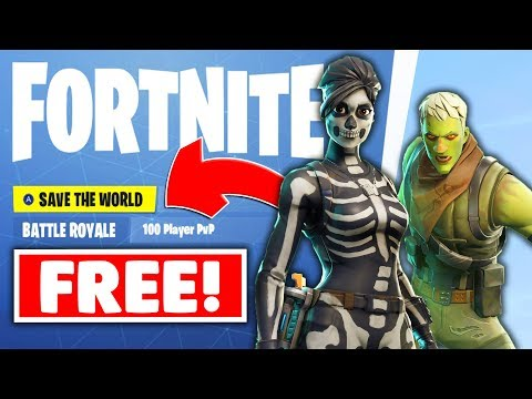 "FORTNITE ""SAVE THE WORLD FREE"" RELEASE DATE 