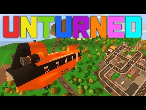 Largest Helicopter Ever - Unturned: Buzz Island