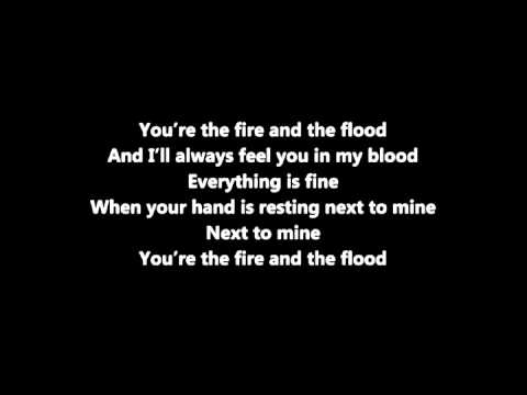 Vance Joy - Fire and the Flood Lyric