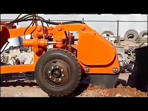 new technology of Fiber Optic Cable Laying machine, awesome construction equipment