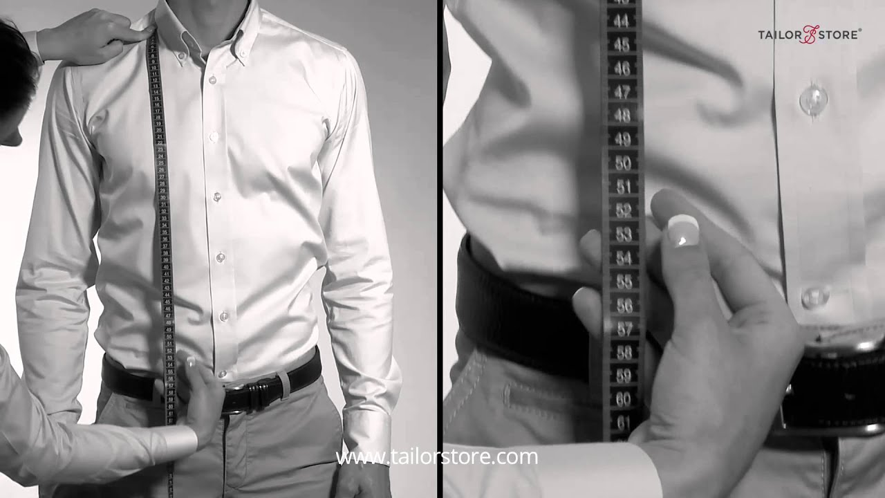 How to measure your shirt or piquet polo length - Measurement guide - Men's body measurements