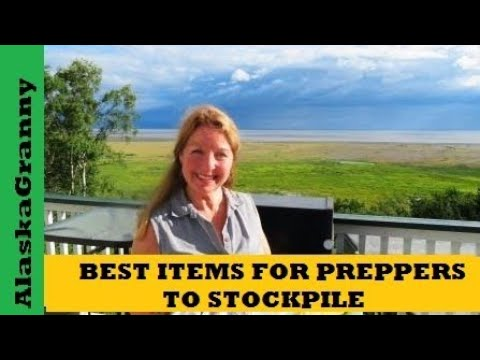 Best Items For Preppers To Stockpile