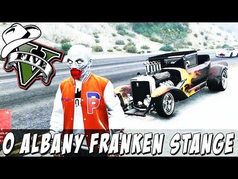 GTA 5 Online (PS4) - Albany Franken Stange: Carro Insano DLC Halloween