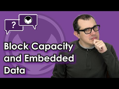 Bitcoin Q&A: Block Capacity and Embedded Data