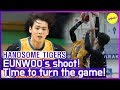 Gambar cover HOT CLIPS HANDSOME TIGERS   🤜CHA EUNWOO Lay-up! Time to turn the GAME!🤛 ENG SUB