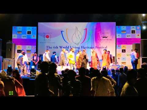 Nooran Sisters - Dama Dam Mast Qalandar Concert Udaipur City 2018