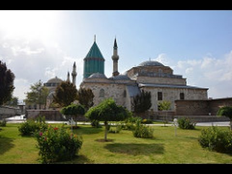 Konya, Turkey-Pilgrimage Site Mevlana Museum and Ince Minare