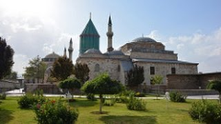 Konya, Turkey-Pilgrimage Site Mevlana Museum and Ince Minaret Medrese (With Narration)