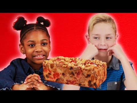Download Youtube: Kids Try Fruitcake For The First Time
