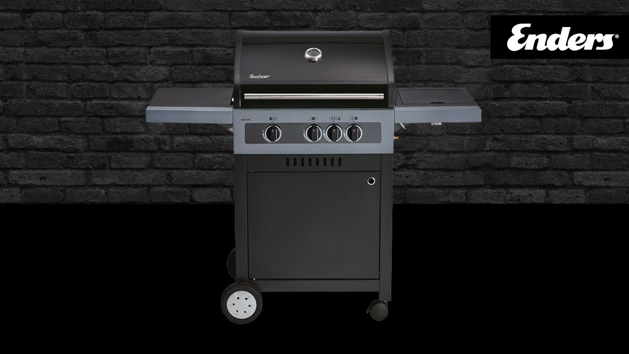 Enders Gasgrill Boston 3k Test : Enders boston black 3k youtube