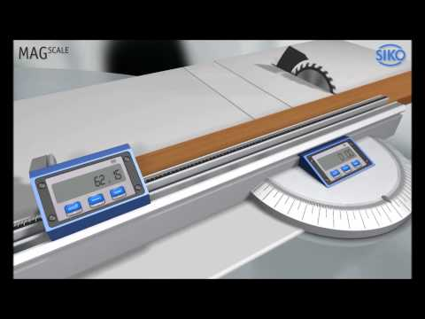 SIKO MagLine -- Electronic Displays for Woodworking