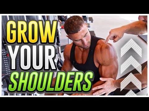 How To Build Massive Shoulders Ft. BEN PAKULSKI