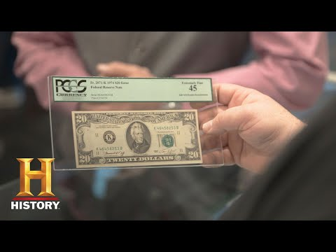 Pawn Stars: 1974 Misprinted $30 Bill Season 14  History