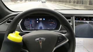 TESLA AutoPilot CANNOT avoid POT HOLES