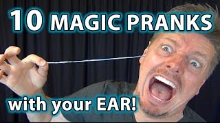 Gambar cover 10 Weird Magic Pranks with EARS!! HOW TO Tricks YOU CAN DO!