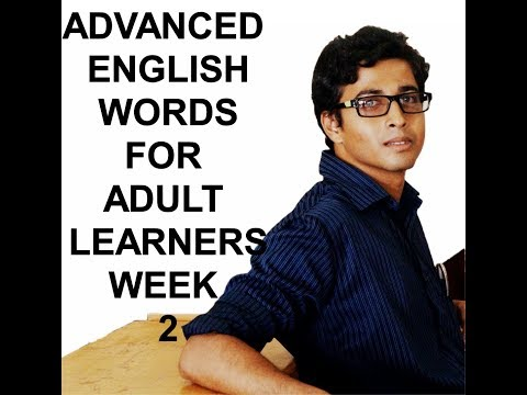 advanced-english-words-for-adult-learners-||-week-2