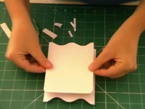 How To Make A Cute Wardrobe Shaped Greetings Card YouTube