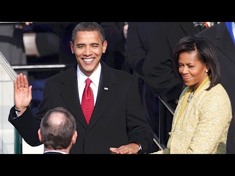 Flash back to 2009 and watch Barack Obama's first inauguration