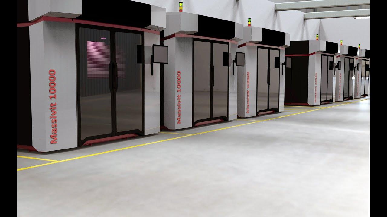 CAMX 2021展览预览:Massivit 3D打印技术