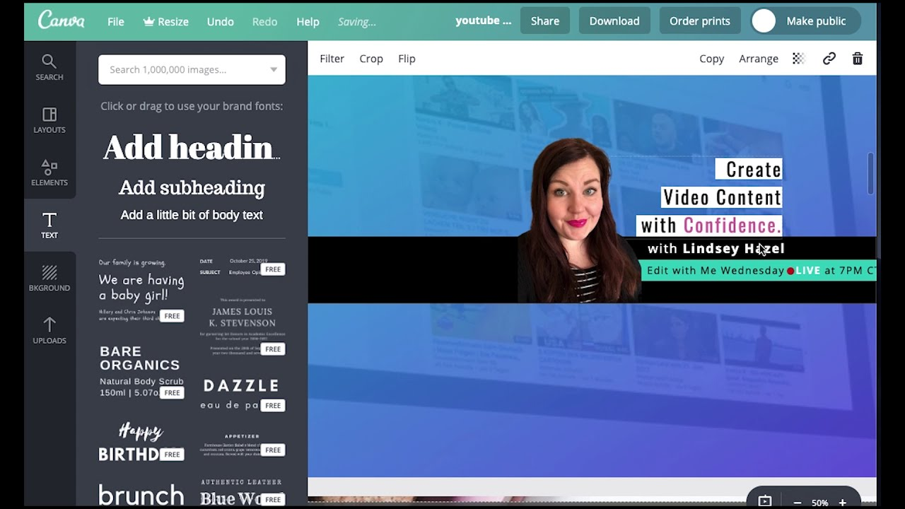 How to Create YouTube Channel Art 2019 (YT Banner Art in ...