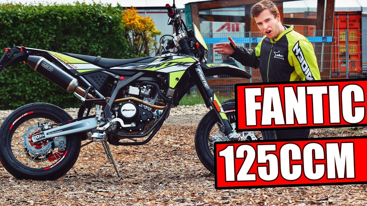 fantic performance 125 ccm supermoto motorrad test youtube. Black Bedroom Furniture Sets. Home Design Ideas