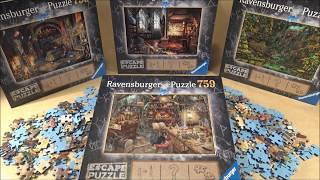 Escape puzzle les presque règles du jeu