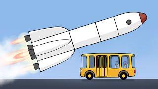Большая сборка - Для самых маленьких - Ракета
