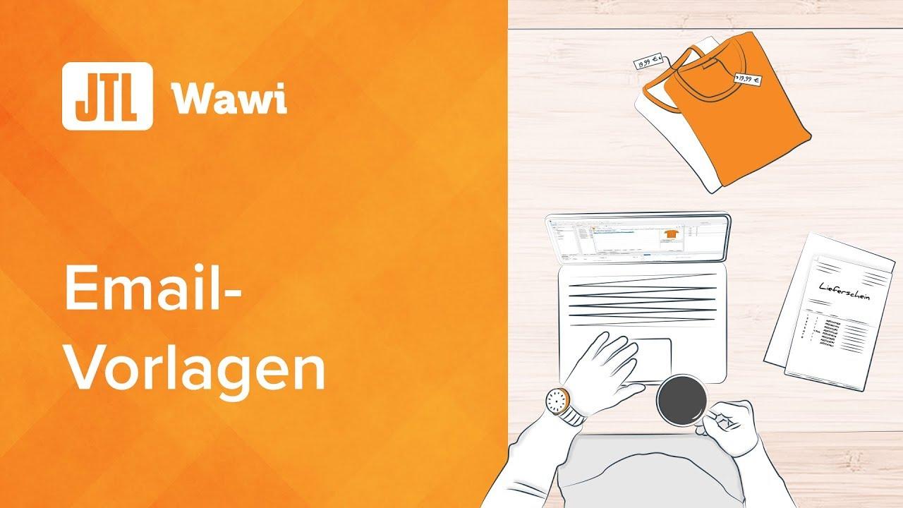 JTL-Wawi Email-Vorlagen - YouTube