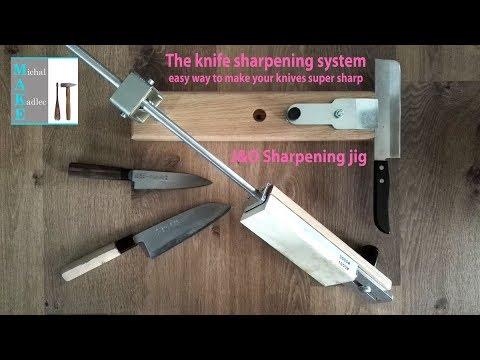 The knife SHARPENING jig II - YouTube