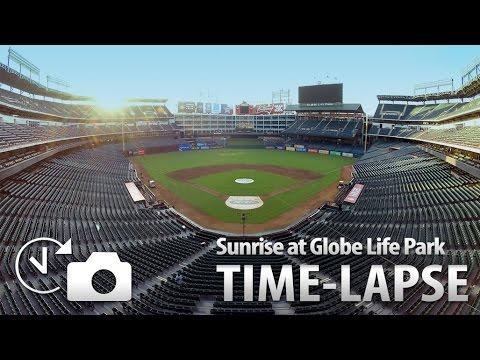 Sunrise Time-Lapse at Globe Life Park(Texas Rangers)