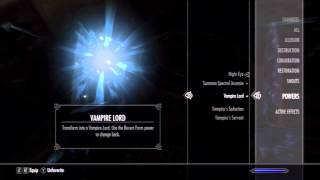 Skyrim Dawnguard DLC Walkthrough/Let's Play - Vampire Lord Questline Ep.5