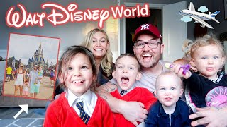 SURPRISING OUR KIDS WITH A TRIP TO DISNEY WORLD!!!
