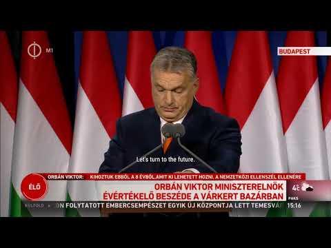 "Orban Viktor speech 18-02-2018 ""State of the nation"" #orban #magyar #hungary #freedom"
