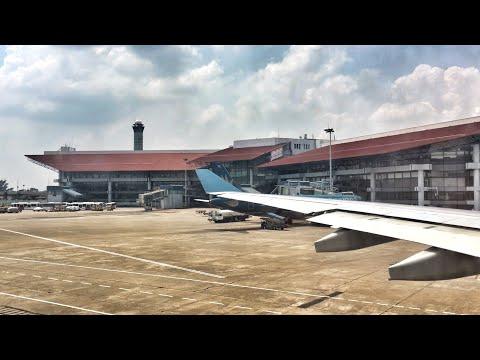 Vietnam Airlines A330 Takeoff from Hanoi, Vietnam
