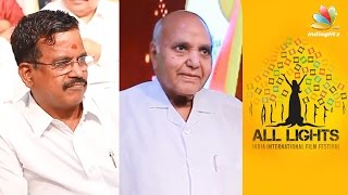 Kalaipuli S. Thanu & Ramoji Rao inaugurates All Lights India International Film Festival